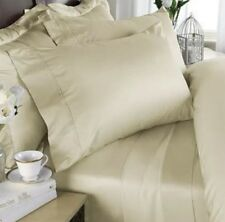 Big Discount! linens Egyptian Bedding Rayon from Bamboo Sheet Set Queen Sz Ivory