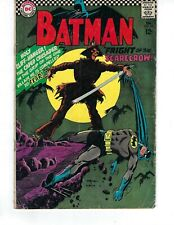 Batman #189 - 1st Silver Age appearance of Scarecrow!