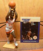 1988  DOMINIQUE WILKINS Starting Lineup Basketball Figure & Card - ATLANTA HAWKS
