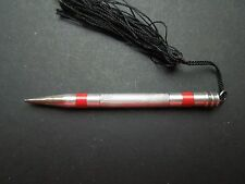 N191  ART  DECO  900  SILVER   BELGIUM  WRITING  PENCIL PEN