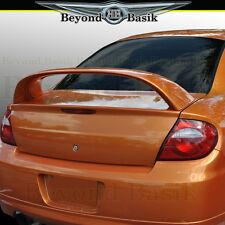 2000 2001 2002 2003 2004 2005 Dodge Neon SRT4 Factory Style Spoiler Wing PRIMED