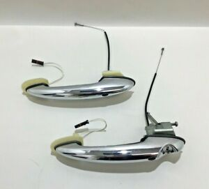 2007-2015 Mini Cooper R56 Exterior Door Handles / Keyless Entry / Chrome / R2017