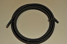 "sewer drain cable 5/8"" x 100' spartan,ridgid,general,electric eel,cleaning"