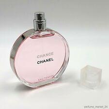 Chanel Chance Eau Tendre Eau de Toilette 100 ml / 3.4 fl. oz New Sealed Box!