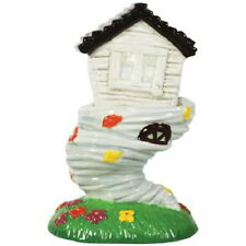 The Wizard of Oz Dorothy's House and Tornado Ceramic Salt and Pepper Set NEW