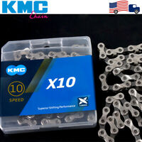 KMC MTB Bike 6/7/8/9/10/11S 116/118L Chains Cassette Sprocket Bicycle Chain Cogs