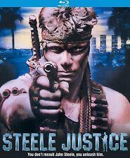 STEELE JUSTICE (1987 Martin Kove)   -  BLU RAY  - Sealed Region A