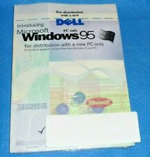 Microsoft Windows 95 Dell OS w/ Product Key SEALED