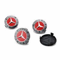 Mercedes Benz Radnabendeckel Felgendeckel Radkappe Emblem Nabendeckel 4X75mm DE