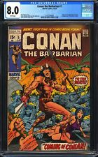 Conan the Barbarian 1 CGC 8.0