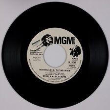 DONNY & MARIE OSMOND: Morning Side of Mountain MGM DJ Promo Pop 45 NM- Osmonds