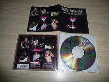 @ CD CRYPT OF KERBEROS - WORLD OF MYTHS / RARE METAL - ADIPOCERE RECS 1993 ORG