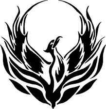 PHOENIX STICKER  CAR WINDOW BUMPER SCOOTER STICKER DECAL