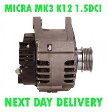 NISSAN MICRA MK3 K12 1.5DCI 2003 2004 2005 2006 2007 > 2010 RMFD ALTERANTOR