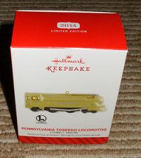"2014 Hallmark Limited Edition Ornament ""Pennsylvania Torpedo Locomotive"" New!"