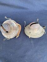 No. 2 Nickel WHITE FLAME LIGHT Co. Kerosene Oil Lamp Burner, Eagle Burner