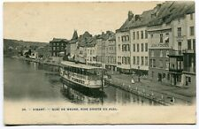 CPA - Carte Postale - Belgique - Dinant - Quai de Meuse, Rive Droite en Aval