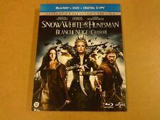 2-DISC BLU-RAY + DVD / SNOWWHITE & THE HUNTSMAN / BLANCHE NEIGE ET LE CHASSEUR