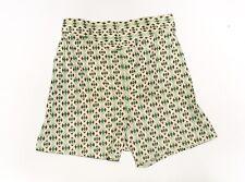Vtg Boxer Shorts Snap Yoke Front Diamond Print Sz 28 Underwear Lounge Sleepwear