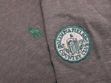 Polo Golf Ralph Lauren Olympia Fields Solid Gray Green Pony Polo Shirt Medium M