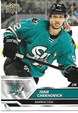 19-20 2019-20 Upper Deck AHL Ivan Chekhovich ROOKIE #6-Sharks