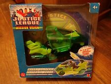 2003 MATTEL--JUSTICE LEAGUE MISSION VISION--GREEN LANTERN MOTORCYCLE (NEW)