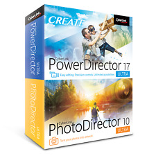 CyberLink PowerDirector 17 Ultra PhotoDirector 10 Ultra
