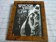 15by19 Framed official Print Comic book art Cover MOON KNIGHT 1982 #23 MARVEL