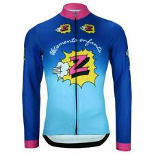 Men's Long Sleeve Cycling Jersey MTB Bike Shirt Jacket Clothing Road Top M Size
