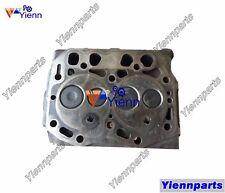 Used 2D68E 2TNE68 Cylinder Head Assy For Yanmar B1U-1 VIO10 B08 SV08 Excavators