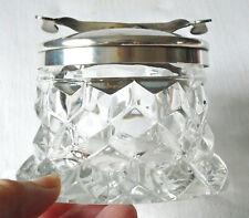 More details for vintage fostoria american cube pattern glass sugar cuber