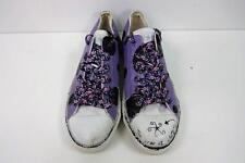Womens Converse Ox Style Trainers Size UK 6 EU 39.5 Purple Grade B AC071