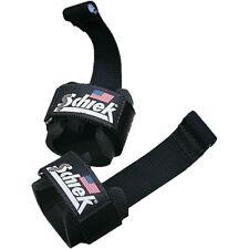 Schiek Sports Model 1000-DLS Deluxe Dowel Lifting Straps - Black