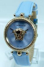 Versace Uhr Uhren Damenuhr VECQ00918 PALAZZO hellblau Markenuhr Armbanduhr NEU