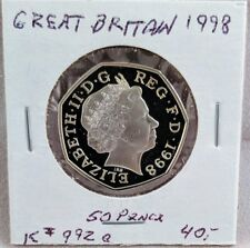 1998 Great Britain 50 Pence