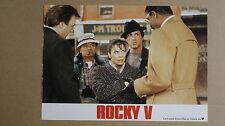 (T424) Aushangfoto ROCKY V - Sylvester Stallone #4