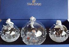 SWAROVSKI #5136414 CHRISTMAS BALL ORNAMENT ANNUAL EDITION 2015 set NEW IN BOX !!