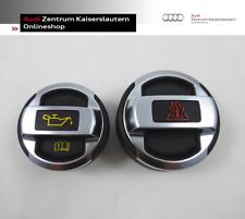 Audi R8 Original Öldeckel + Kühlerdeckel Set 420103485 420121321 VW GTI Skoda RS