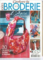 COUTURE & BRODERIE N°03 - L'ASIE A L'HONNEUR - 30 OUVRAGES FACILES A REALISER