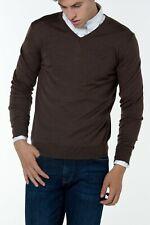 GANT Men's Sweater Fine Merino V-neck  Size XL