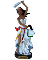 "Orisha Oya 12.5"" Resin Statue Oyá Figurine Orisha Of Winds , New"
