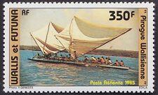 WALLIS ET FUTUNA PA N°145** Bateau Pirogue TB, 1985 sailing boat MNH