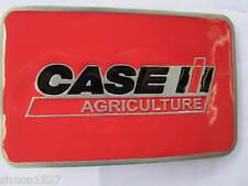 Case tractor belt buckle farming