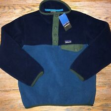 PATAGONIA boys LW snap T P/O GLSB/New with tags/XS