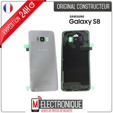Vitre arrière Silver / Arctic Silver Original Samsung Galaxy S8 G950