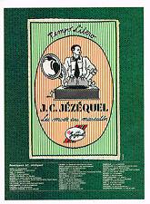 PUBLICITE ADVERTISING 064 1987  J.C JEZEQUEL   boutique  LA MODE AU MASCULIN