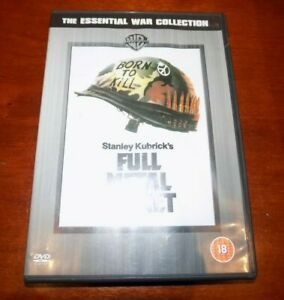 DVD   THE ESSENTIAL WAR COLLECTION FULL METAL JACKET