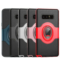 For Samsung Galaxy S9 S8Plus Note 8 Note 9 Ring Holder Shockproof Armor TPU Case