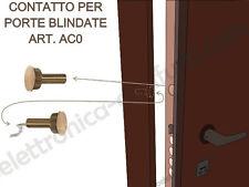 AC0 - Contatto magnetico a sigaretta per Porte e Finestre blindate da incasso