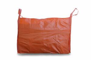 2 CUBIC 400 KG WOVEN POLYPROPYLENE SKIP BAG - 1.0(W) X 2.0(L) X 1(H) M